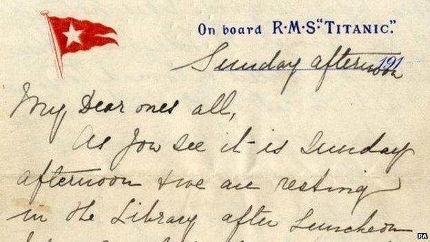 Τιτανικός: Το τελευταίο γράμμα πουλήθηκε για 119.000 δολάρια