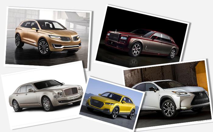 Cool αυτοκίνητα από την Έκθεση Αυτοκινήτου του Πεκίνου