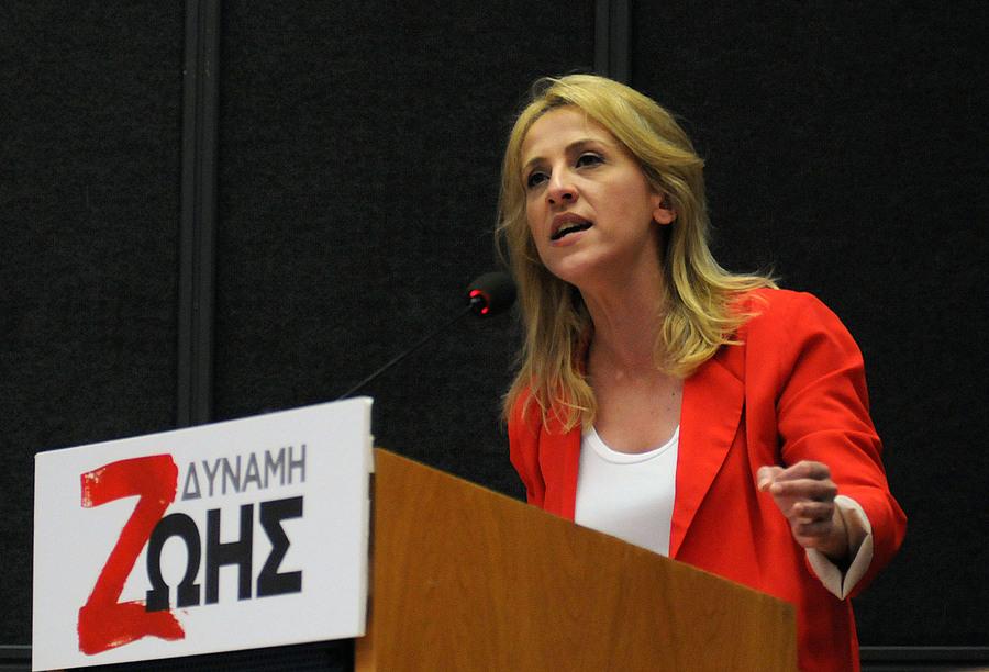Παρουσίασε το ψηφοδέλτιο για την περιφέρεια Αττικής η Ρένα Δούρου