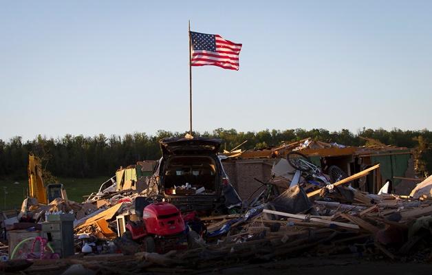 Φωτογραφίες: Στο έλεος των φυσικών καιρικών φαινομένων η Αλαμπάμα