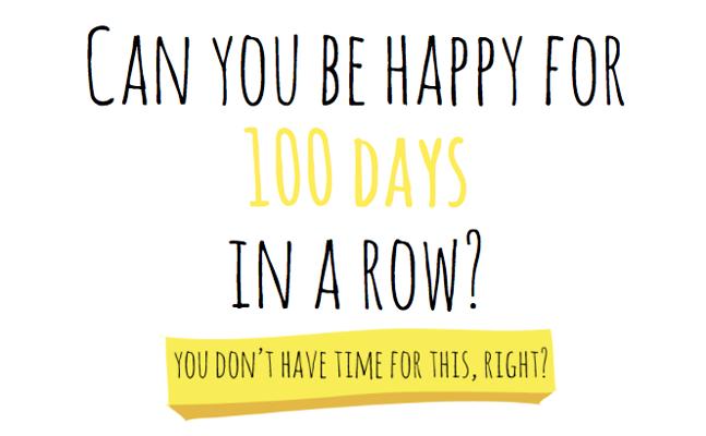 Ευτυχία διάρκειας… 100 ημερών!