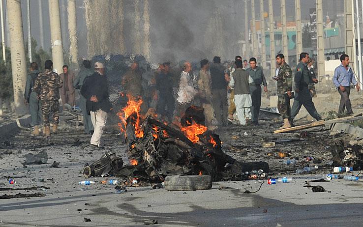 Νέα βομβιστική επίθεση, αυτή τη φορά στο Αφγανιστάν