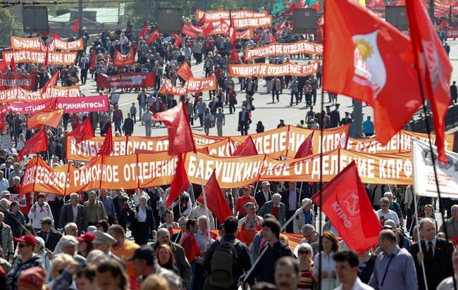 Οι Ρώσοι «ξεχύθηκαν» στην Κόκκινη Πλατεία