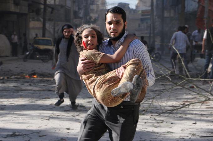 Τουλάχιστον 33 νεκροί σε αεροπορική επιδρομή στο Χαλέπι της Συρίας