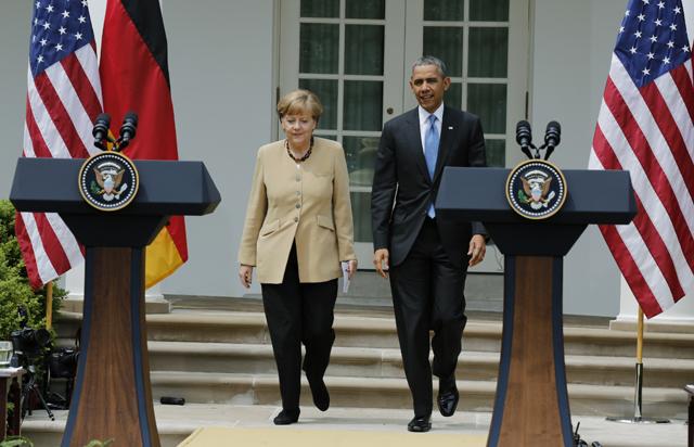 Προς νέο γύρο κυρώσεων για τη Ρωσία οδεύουν Μέρκελ-Ομπάμα