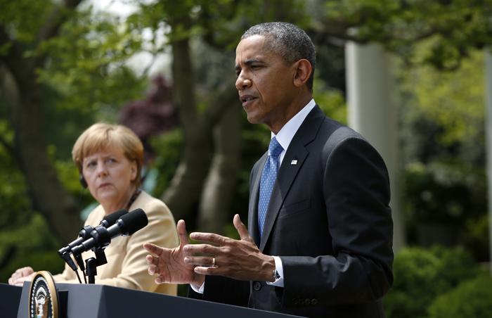 Τι είπαν Ομπάμα και Μέρκελ για εμπόριο και παρακολουθήσεις