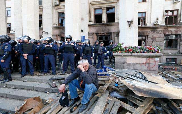 Οι φιλορώσοι πέρασαν στην αντεπίθεση στην Οδησσό
