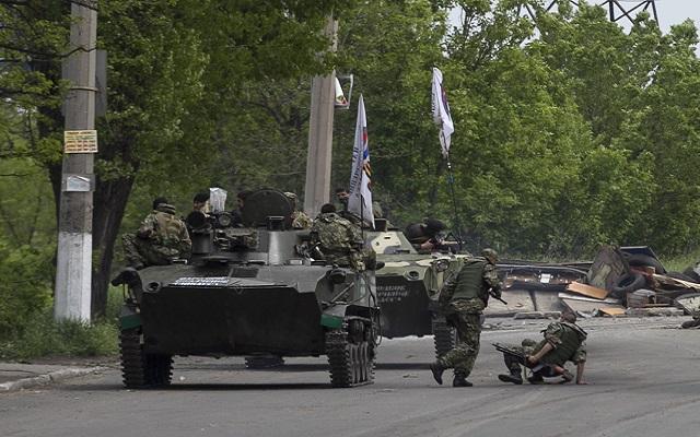 Σκηνές εμφυλίου στην Ουκρανία