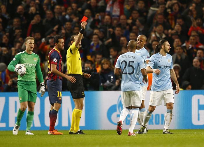 «Κόκκινη κάρτα» της UEFA στην Μάντσεστερ Σίτι