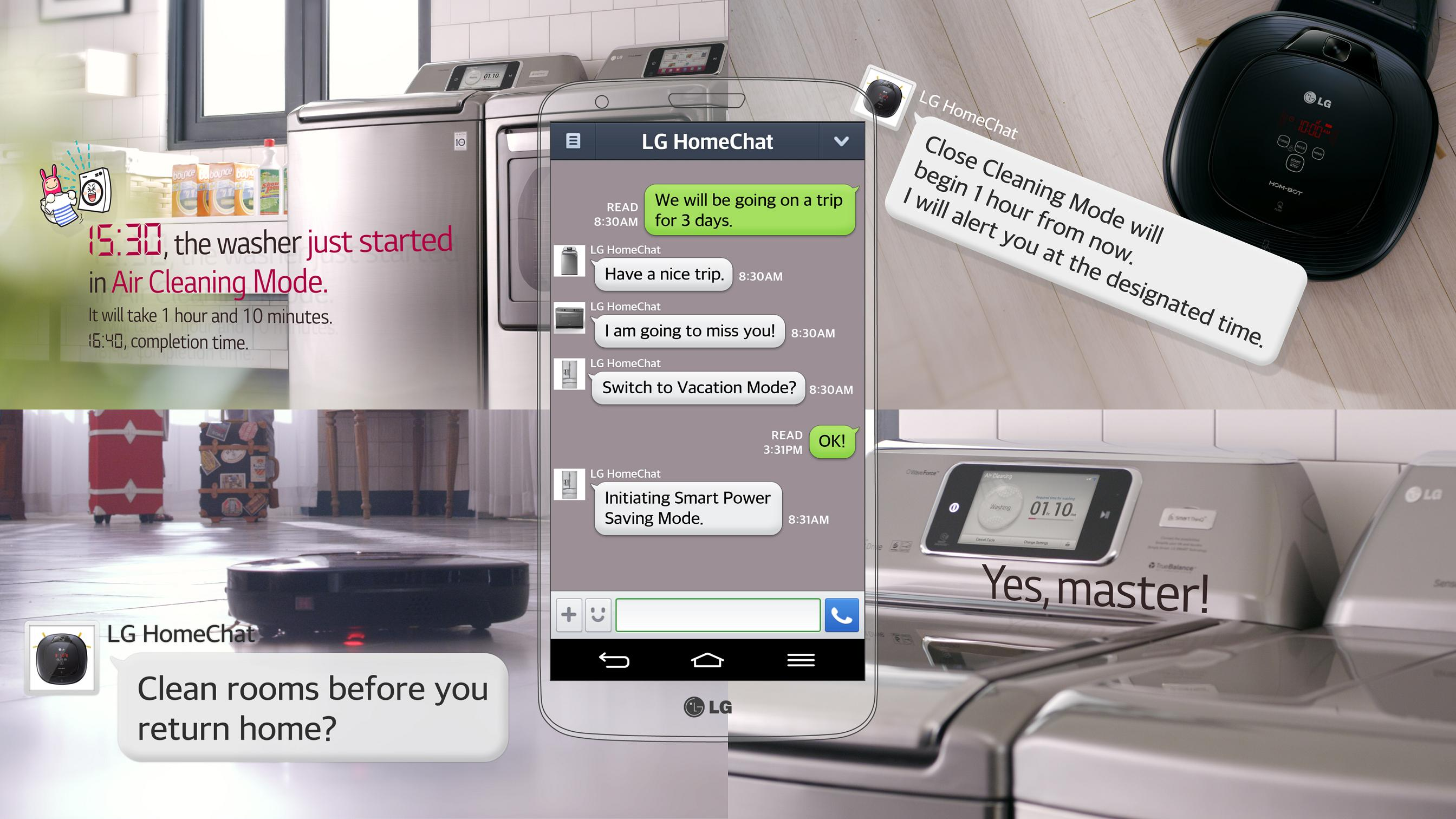 Μιλήστε στο chat με… το ψυγείο σας
