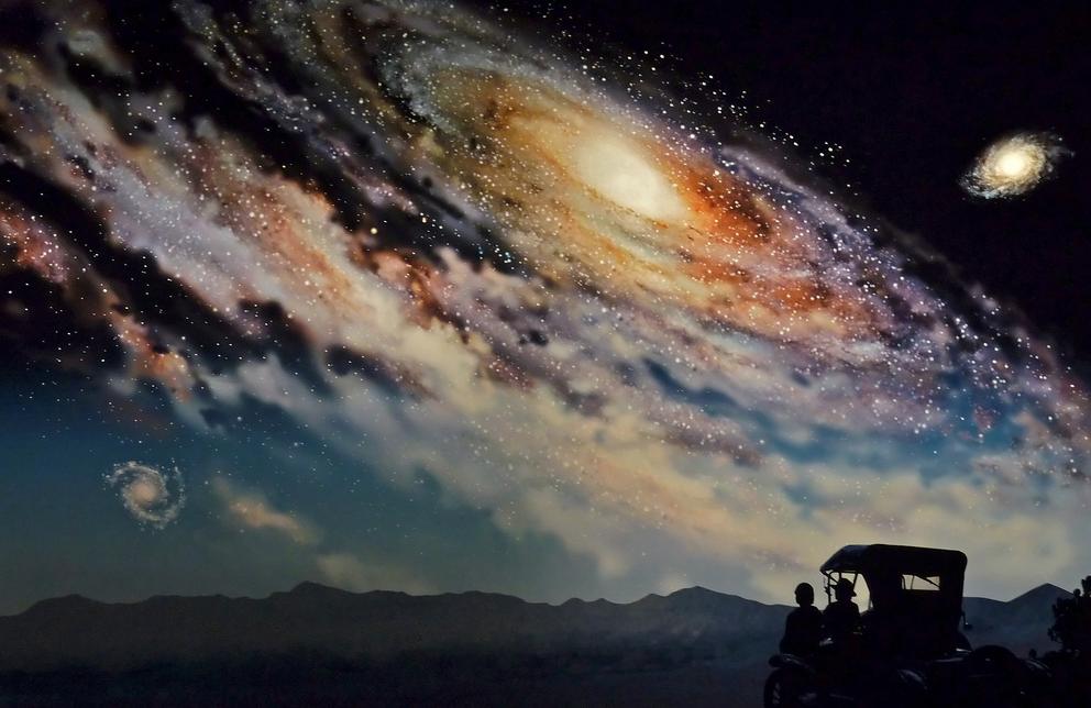 Η εξέλιξη του σύμπαντος σε τέσσερα λεπτά (βίντεο)