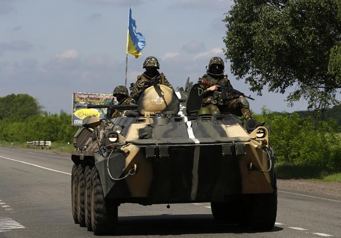 Ενέδρα θανάτου για έξι Ουκρανούς στρατιώτες