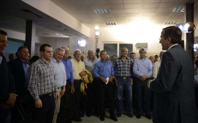 Περιοδεία του Αντώνη Σαμαρά στη Μυτιλήνη