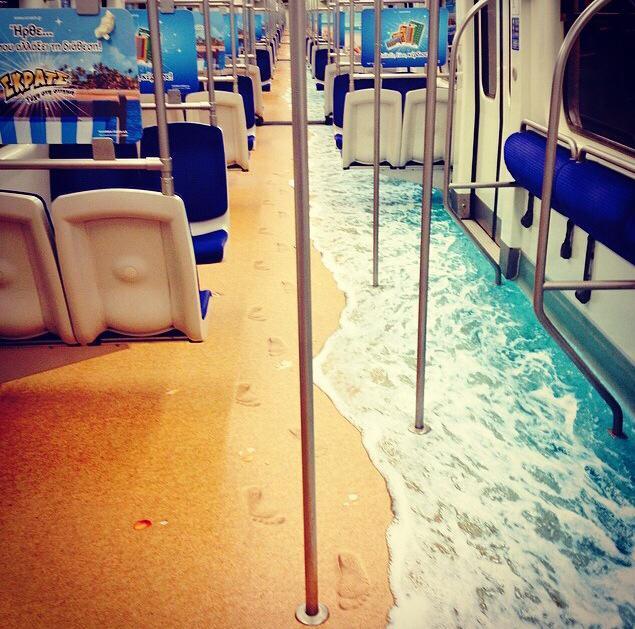 Το μετρό «πάει» παραλία