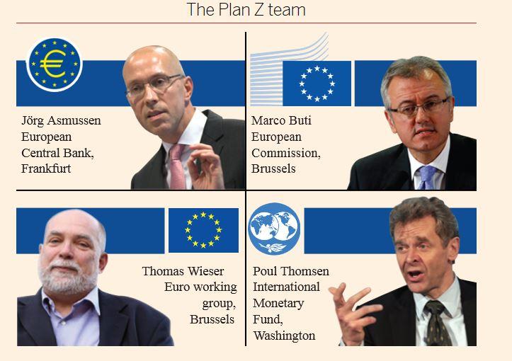 Στο φως το μυστικό σχέδιο «Ζ» για πιθανό Grexit