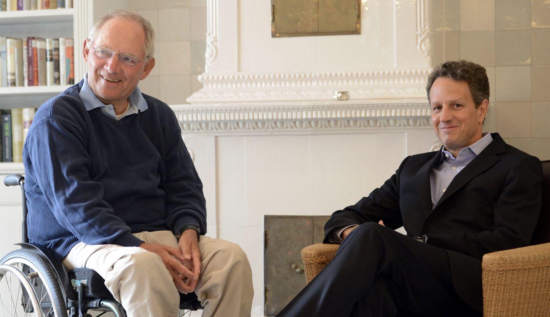 Αποκαλύψεις Γκάιτνερ: Ο Σόιμπλε μου παρουσίασε το σχέδιο Grexit