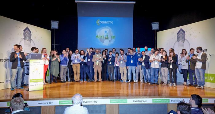 Οι δέκα «εκλεκτοί» του COSMOTE StartUp