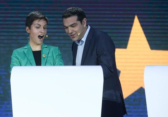 Τσίπρας και Κέλερ «έκλεψαν» την παράσταση