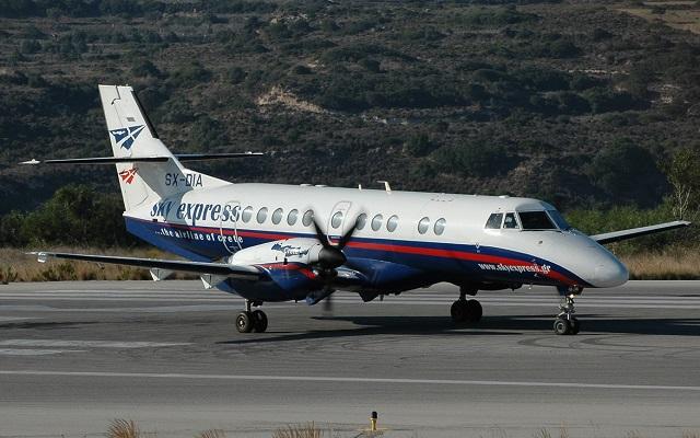 Η Sky Express συνδέει τη Θεσσαλονίκη με τις Σποράδες