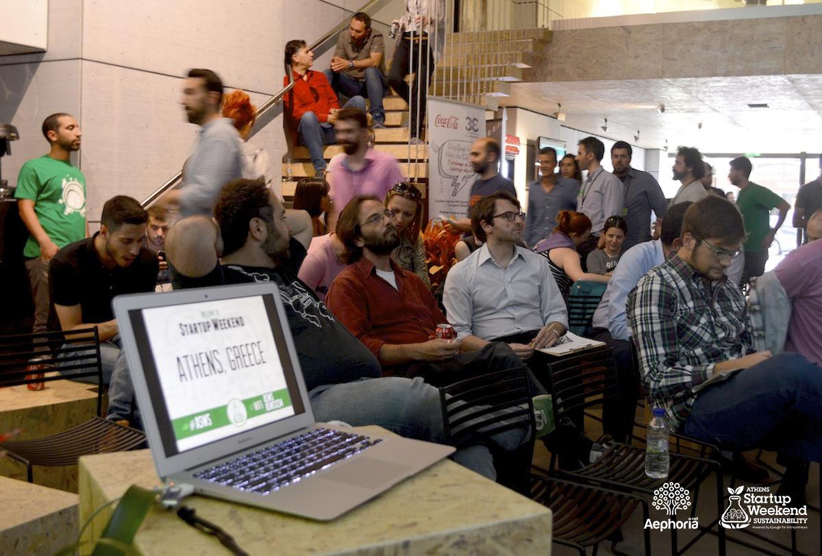 Ολοκληρώθηκε το πρώτο Athens Startup Weekend Sustainability