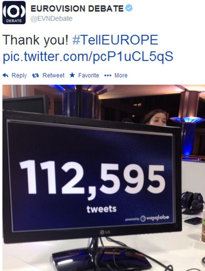 Ο «most tweeted leader» του ντιμπέιτ είναι ο Τσίπρας