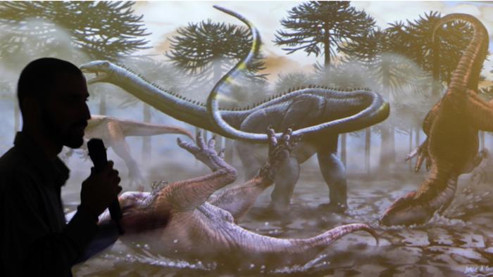 Ανακαλύφθηκε ο μεγαλύτερος δεινόσαυρος που περπάτησε στη Γη