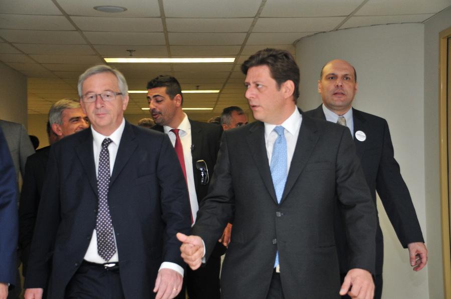 Επίσκεψη του Ζ.Κ. Γιούνκερ στην Αθήνα