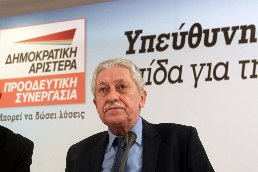 Τη νίκη των προοδευτικών δυνάμεων χαιρέτισε ο Φ.Κουβέλης