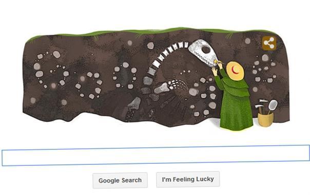 Το «παλαιοντολογικό» Google doodle