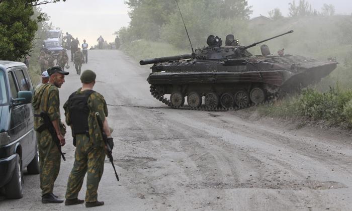 Αιματηρές συγκρούσεις στο Ντονέτσκ της Ουκρανίας