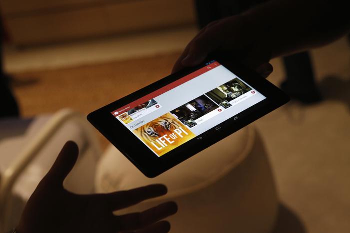 Νέο «τρισδιάστατο» tablet σχεδιάζει η Google