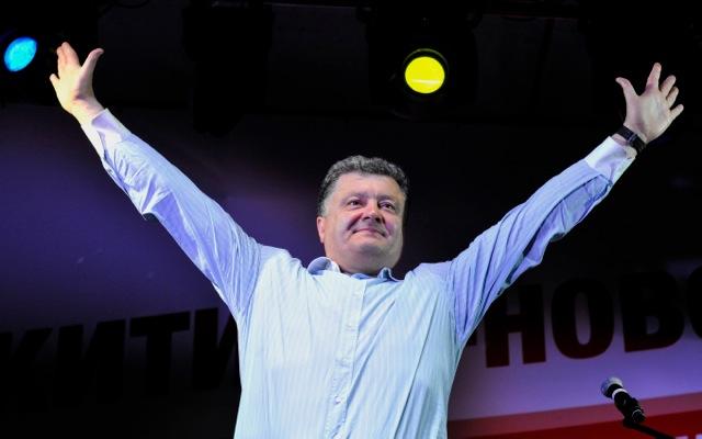 Νέος πρόεδρος της Ουκρανίας ο Πέτρο Ποροσένκο
