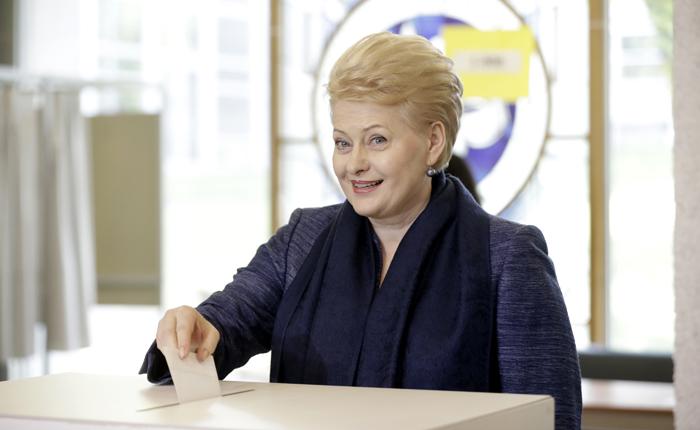 Η «Σιδηρά Κυρία της Βαλτικής» κέρδισε στη Λιθουανία