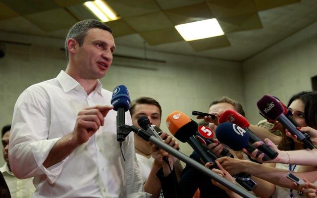 Δήμαρχος Κιέβου ο Βιτάλι Κλιτσκό