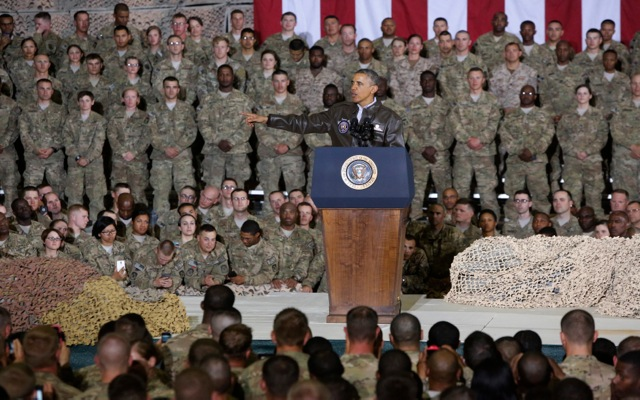 Ομπάμα: «Ο πόλεμος των ΗΠΑ στο Αφγανιστάν θα τελειώσει υπεύθυνα»
