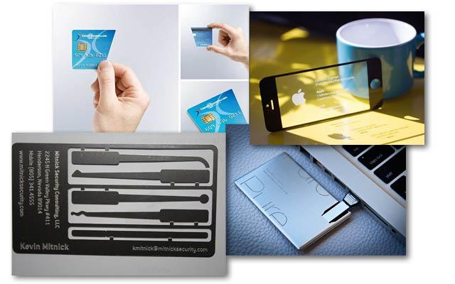Business cards με υψηλό IQ