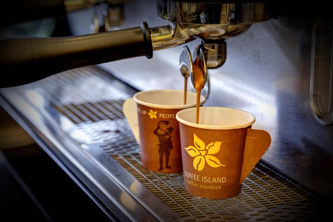 Το ελληνικό «νησί» του καφέ