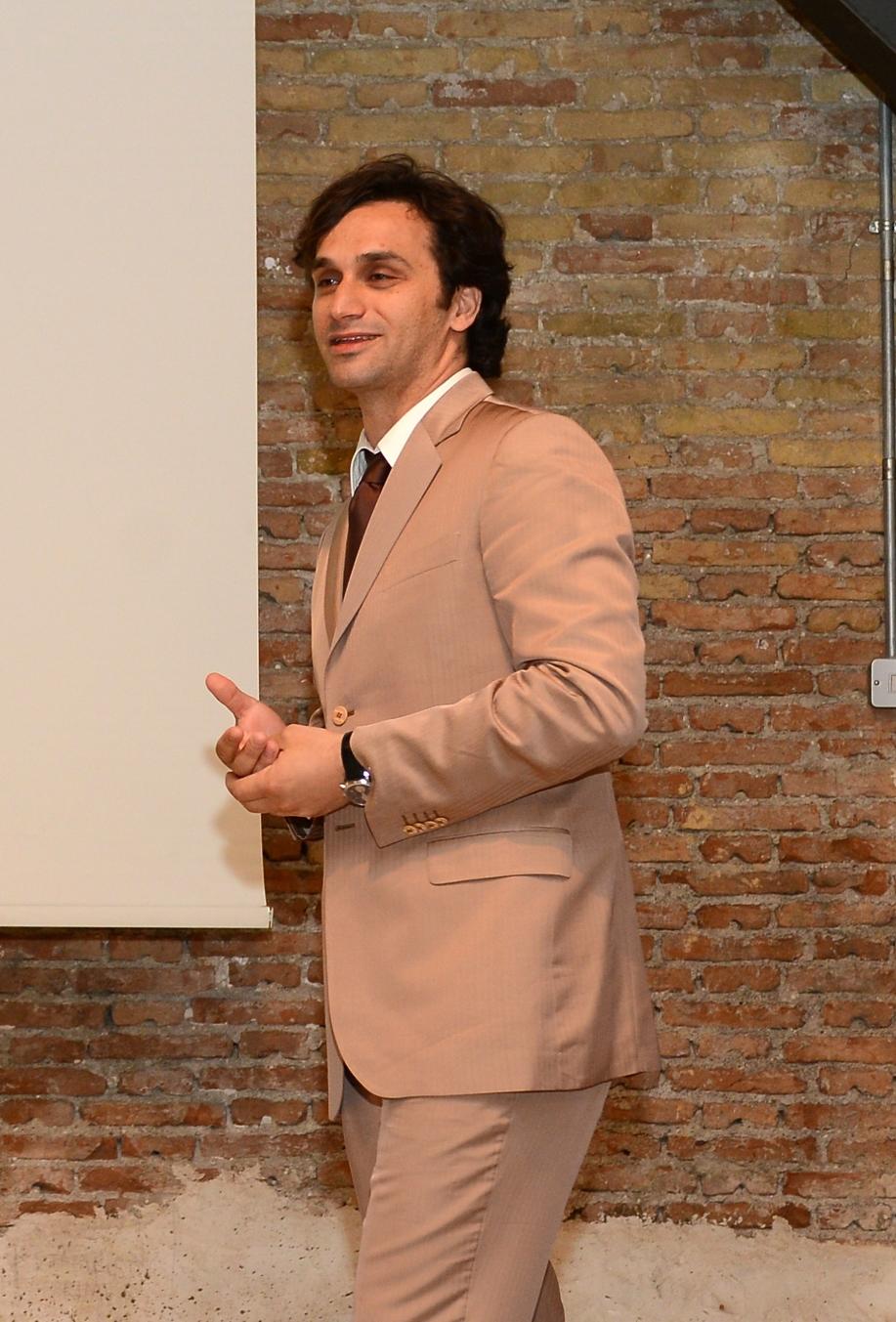 Ο Κωνσταντίνος Κωνσταντινόπουλος, Διευθύνων Σύμβουλος της εταιρείας.