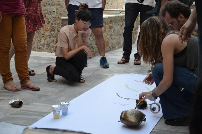 Εργαστήριο με την εικαστικό Christine Sun Kim σε Αθήνα και Ύδρα