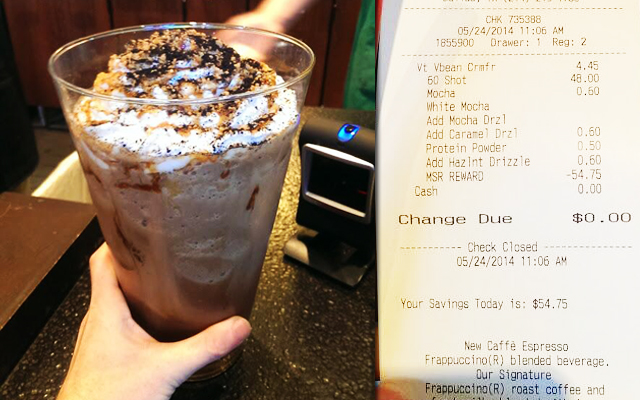 Καφές αξίας 55 δολαρίων