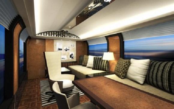 Ένα τρένο… πραγματικό ξενοδοχείο!