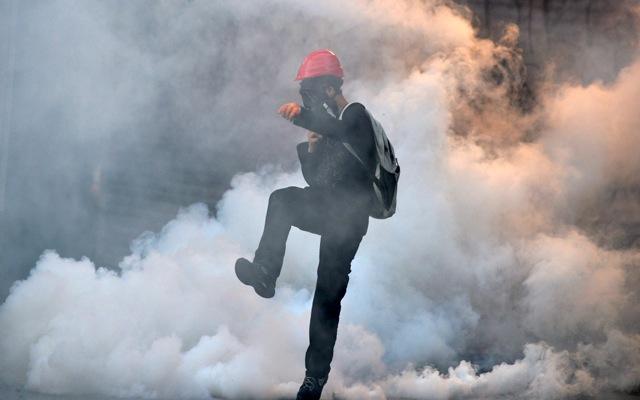 Δεύτερη ημέρα συγκρούσεων στην Τουρκία