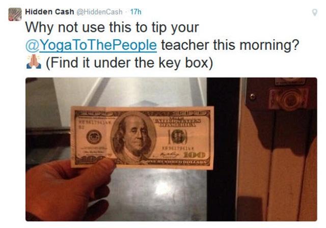 Ο άνθρωπος που μοιράζει χρήματα στο Twitter