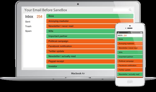 SaneBox: Η εφαρμογή που θα βάλει σε «τάξη» τα email σας