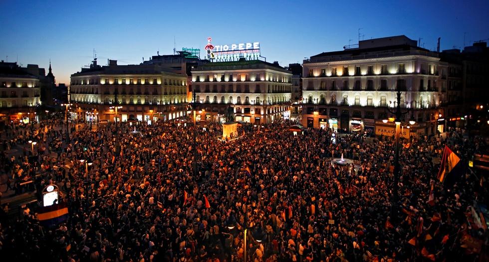 «Όχι πια βασιλιάδες» ζητούν χιλιάδες Ισπανοί