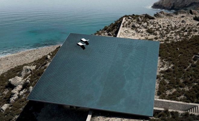 H πλέον εντυπωσιακή πισίνα του Αιγαίου