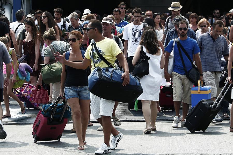 Θεαματική αύξηση του τουρισμού για το 2014