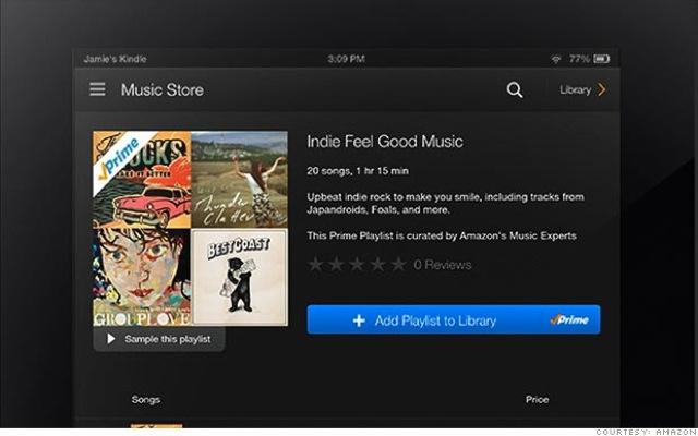 Νέα υπηρεσία μουσικού streaming από την Amazon
