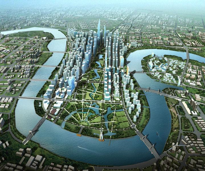 Δείτε την πρώτη οικολογική πόλη της Κίνας