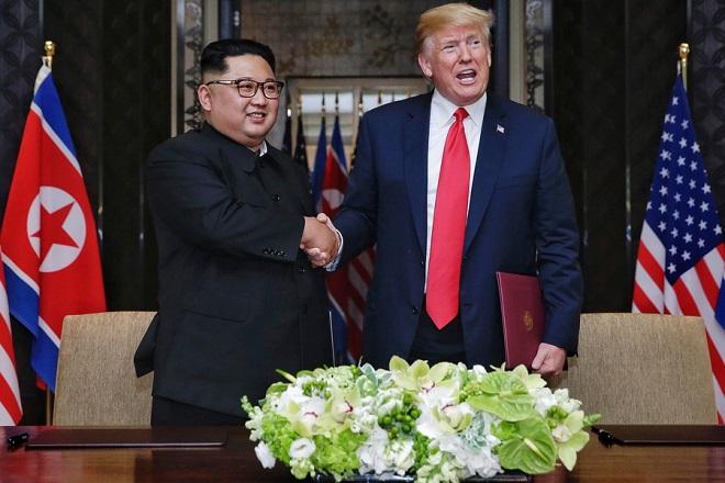 Τι έφαγαν ο Τραμπ και ο Κιμ Γιονγκ Ουν πριν πέσουν οι υπογραφές